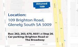 Parking for Attuned Psychology Brighton Road Glenelg South